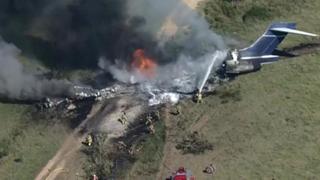 Texas, aereo charter casca in un campo: salvi tutti i passeggeri