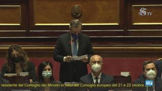 Draghi: «In Italia la campagna vaccini è più veloce rispetto alla media Ue»