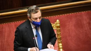 Draghi: «Ad oggi l'Italia ha assegnato 11 milioni di vaccini:  3 milioni  a Vietnam e Indonesia»