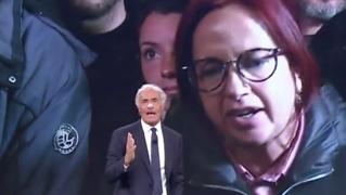 Giletti furioso con la senatrice Granato: «Lei non può rappresentare il popolo, deve studiare la Costituzione
