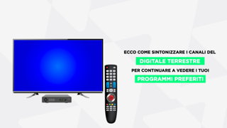 Nuova tv digitale, ecco come risintonizzare i canali: il tutorial