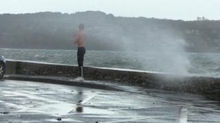 Francia, forte raffiche di vento nel Finistère