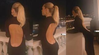 Ilary Blasi, la scollatura del suo vestito è vertiginosa...