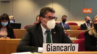 Giorgetti: «Per la formazione serve un incontro tra tecnologia, economia e ambienti stimolanti»
