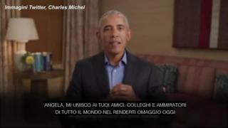 Ultimo consiglio europeo di Angela Merkel, Obama: «Con te il centro ha resistito a molte tempeste»