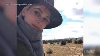 Tragedia sul set di «Rust»: il video di due giorni fa postato dalla direttrice della fotografia morta per gli spari