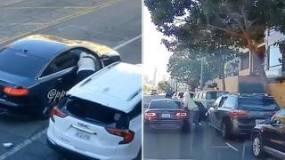 «Spacca e ruba»: i ladri rompono il finestrino delle auto per rubare