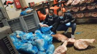 Modena, sequestrate 20 tonnellate di prosciutti congelati in cattivo stato di conservazione