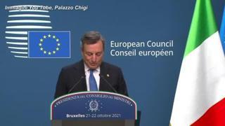 Quota 100, Draghi: «Non sarà rinnovata e puntiamo a un graduale ritorno alla normalità»
