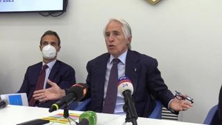 Malagò: «Bravo Lotito a sospendere subito il falconiere»