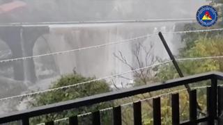 Maltempo, danneggiato il ponte San Giuliano nel catanese