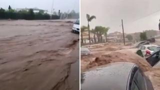 Maltempo in Sicilia: auto travolte dal fango a Scordia