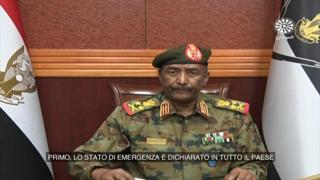 Sudan, il generale Burhan annuncia lo stato di emergenza in tutto il Paese