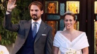 Il Principe Philippos di Grecia e Nina Flohr sposi: il matrimonio ad Atene