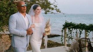 Meadow Walker, figlia di Paul, si sposa: all'altare la accompagna Vin Diesel