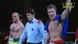 Tuiach sul ring quando vinse il titolo di campione italiano dei Pesi massimi leggeri