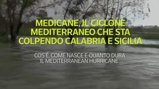 Medicane, il ciclone mediterraneo che sta colpendo Calabria e Sicilia