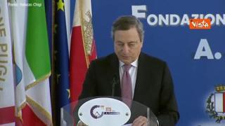 Draghi: «Italia per anni si è dimenticata dei giovani, ma ora sono al centro dell'azione di Governo»