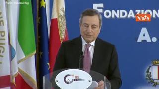 Draghi: «Nostro dovere abbattere pregiudizi che ostacolano espressione talento femminile»