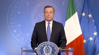 Draghi a Civil Week Lab: «Grazie volontari, siete indispensabili per il Paese»
