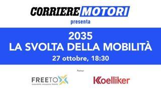 Corriere Motori - 2035: la svolta della mobilità