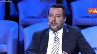 Salvini: «Ddl Zan affossato da arroganza di Letta»