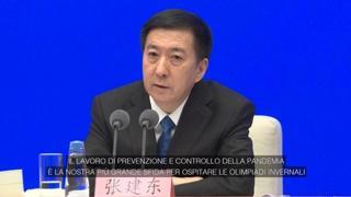 Olimpiadi invernali di Pechino: «Il controllo della pandemia è la nostra più grande sfida»