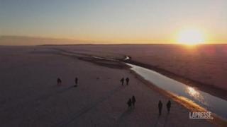 Clima, sparisce Lago Tuz, più grande Turchia. Tra le cause siccità e agricoltura