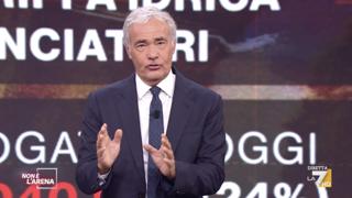 Toscana e rifiuti tossici, Giletti: «Dove sono finiti i milioni per il depuratore?»