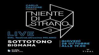 «Niente di Strano» al via con i Sottotono la serie sulla musica di qualità con i concerti in diretta su Corriere.it