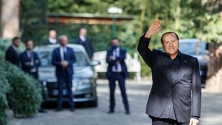 Incontro Salvini- Berlusconi a Villa Grande a Roma: ecco le immagini
