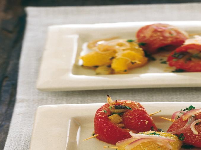 Assaggi di peperoni farciti