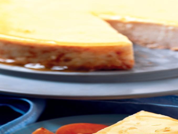 Cheese-cake alle albicocche