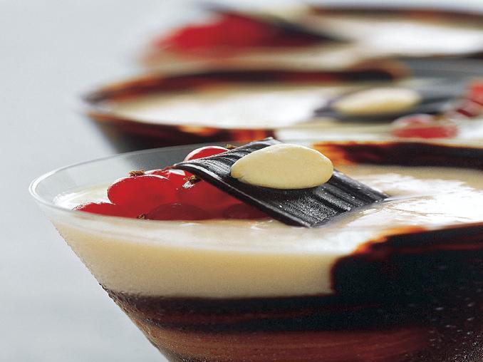 Crema frangipane vestita di cioccolato