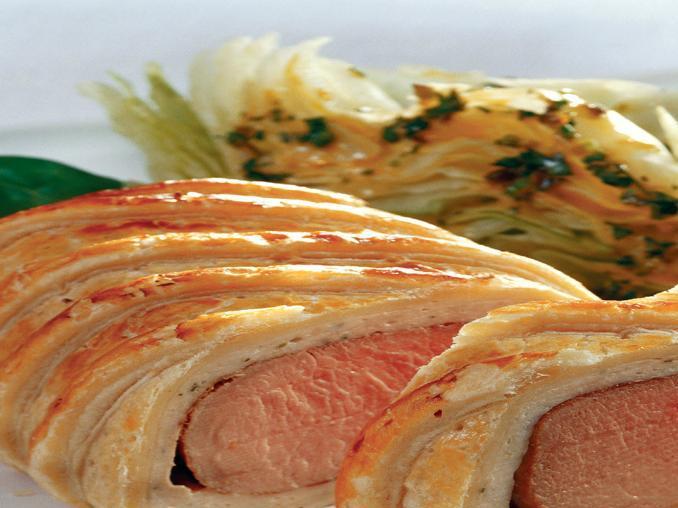 Filetto di maiale in crosta