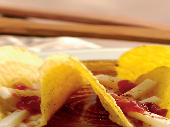 Tacos con queso