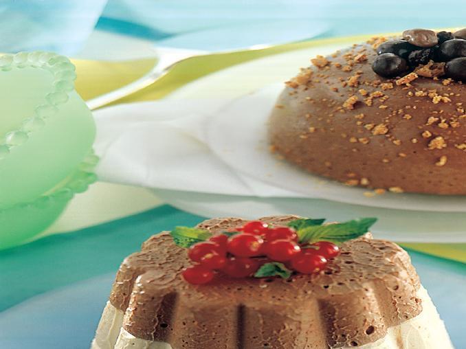 Semifreddi gourmet ai due cioccolati e caramello