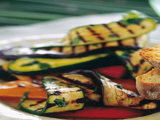 Misto di verdure alla griglia