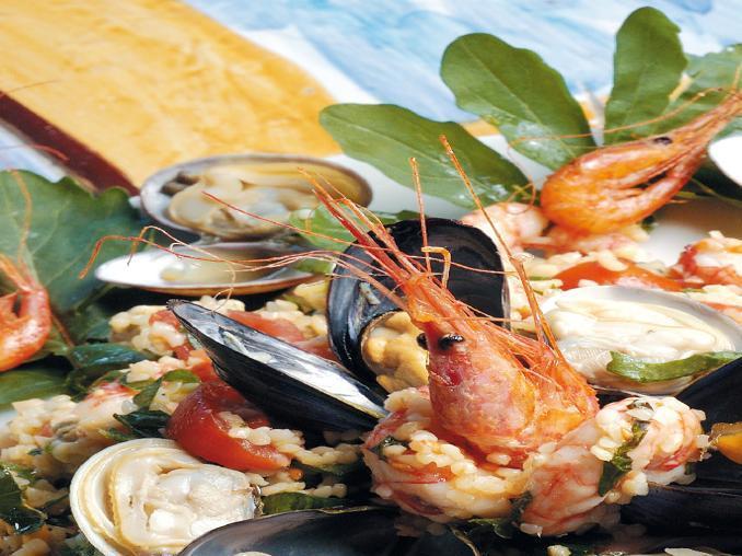 Insalatina di bulghur ai frutti di mare