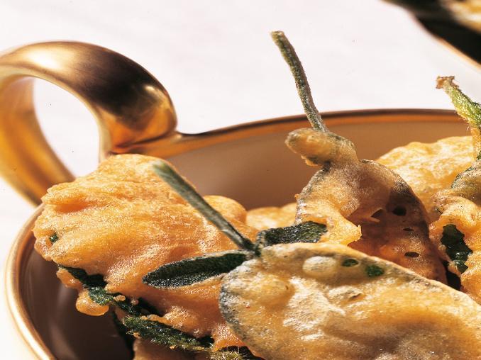 Salvia in pastella