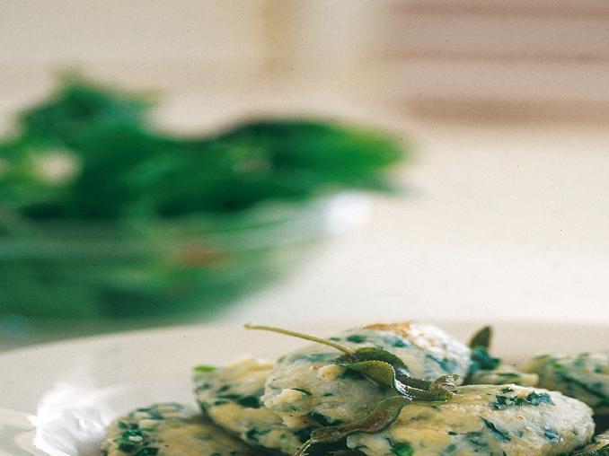 Gnocchi freschi alla ricotta e spinaci