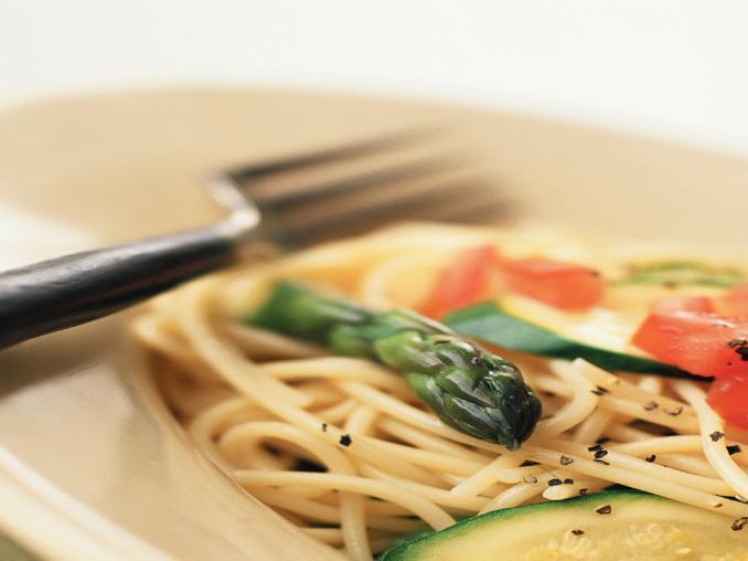 Spaghetti con le verdure