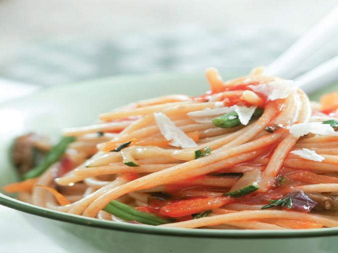 Spaghetti vegetariani