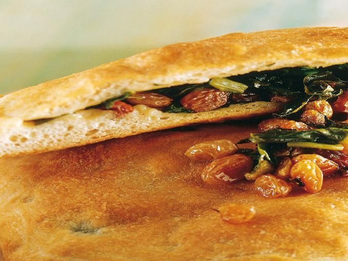Calzone in agrodolce