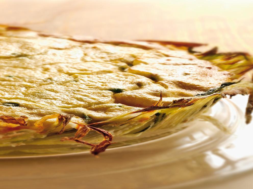 Torta rustica alle verdure primaverili