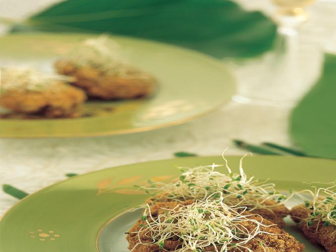 Frittelle di riso e lenticchie