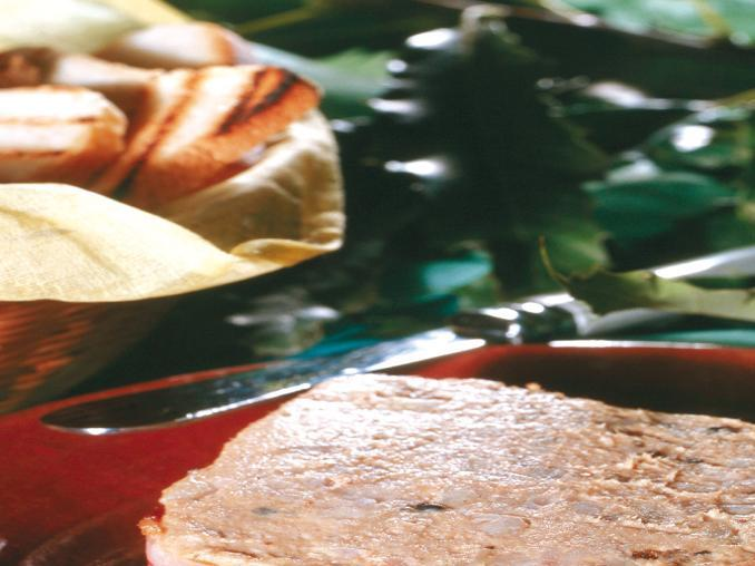 Paté di anatra alle castagne
