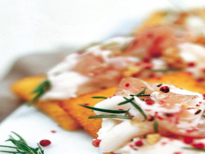 Bruschette di polenta