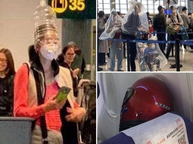 Coronavirus: passeggeri terrorizzati con bottiglie di plastica in ...