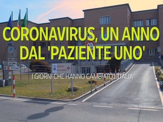 Coronavirus, un anno dal 'paziente uno': i giorni che hanno cambiato l'Italia  - Corriere TV